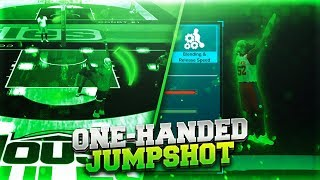 EYE FOUND THE BEST ONE HAND JUMPSHOT IN NBA 2K18 | INSANE GREEN FREQUENCY WITH ONE HAND😱 BEST BASE!