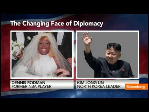Dennis Rodman Scores a Sitdown With North Korean Leader