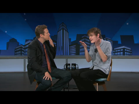 Bo Burnham Performs A Reading From His Book