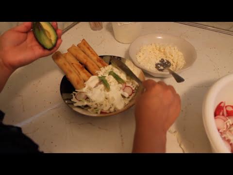 Tacos Dorados o Flautas Ahogadas