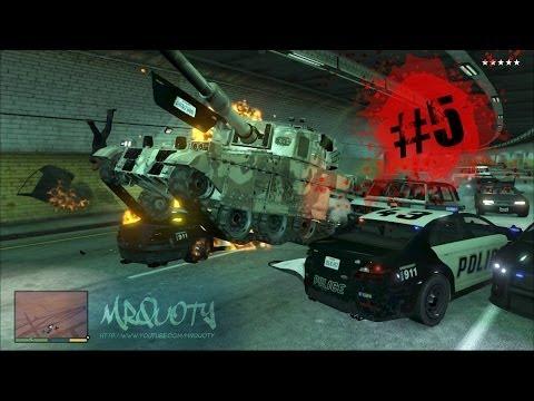 GTA V ONLINE | Carnage avec le tank #5 | EPIC ! Les plus gros rageux !!!