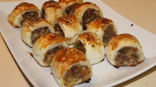 Mini Sausage Rolls (Party Food/ Finger Food)
