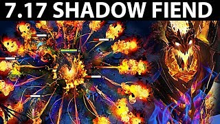 AWESOME SHADOW FIEND PATCH 7.17 DOTA 2 NEW META GAMEPLAY #131