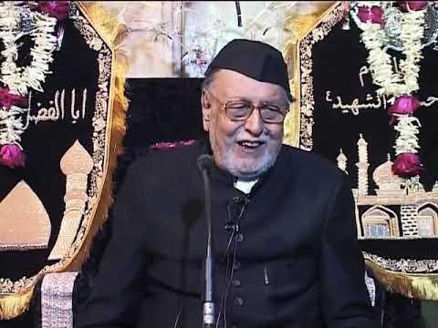 1st Muharram Insan Mirza Mohammed Athar 1437 Hijri
