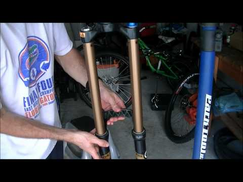 Fox Talas Fork Oil Change Part 2