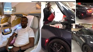 See the gift Sule Alao Malaika got himself to celebrate his birthday, Electric car, Non fuel