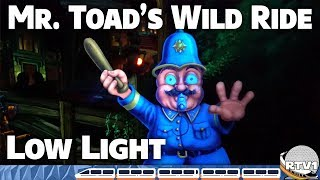 Mr Toad's Wild Ride at Disneyland - Ultra Low Light - 60fps - Full Ride POV