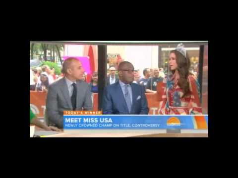 Nia Sanchez, Miss USA 2014 | Today Show