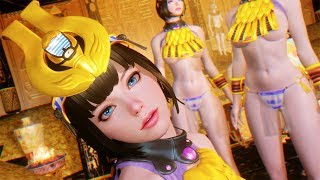 THE MOST KAWAII WAIFU? Menace From Queens Blade - Skyrim Mod Review Episode 139