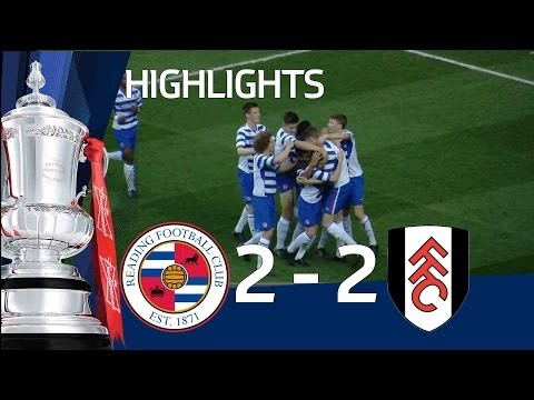 READING VS FULHAM 2-2: Official Goals and Highlights FA Youth Cup