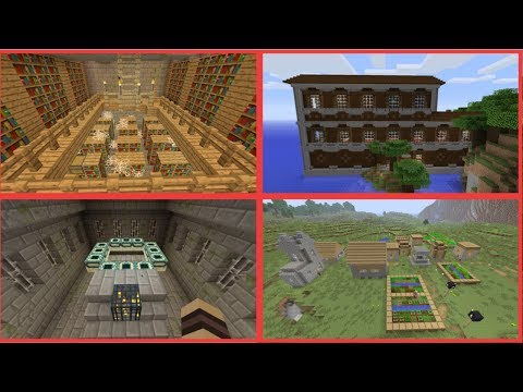 Minecraft Console - Woodland Mansion Seed At Spawn!! (PS4, XboxOne, PS3, Xbox360, Switch, WiiU)