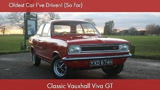Oldest Car I've Driven! (So Far): Classic Vauxhall Viva GT