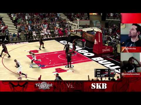 Bulls vs Heat: NBA 2K11 Showdown (Soldier vs TLDToday)