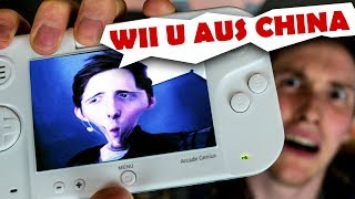"Die Fake Wii U aus China.. | ""Genius Arcade SE"""