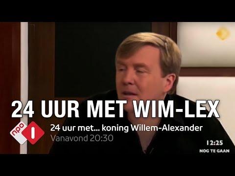 24 uur met... koning Willem Alexander