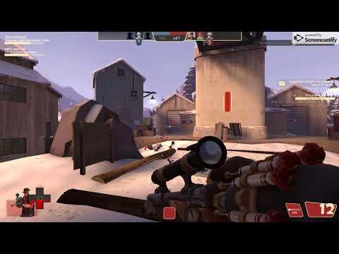 Sniping a engineer!!!! / Gaming TF2