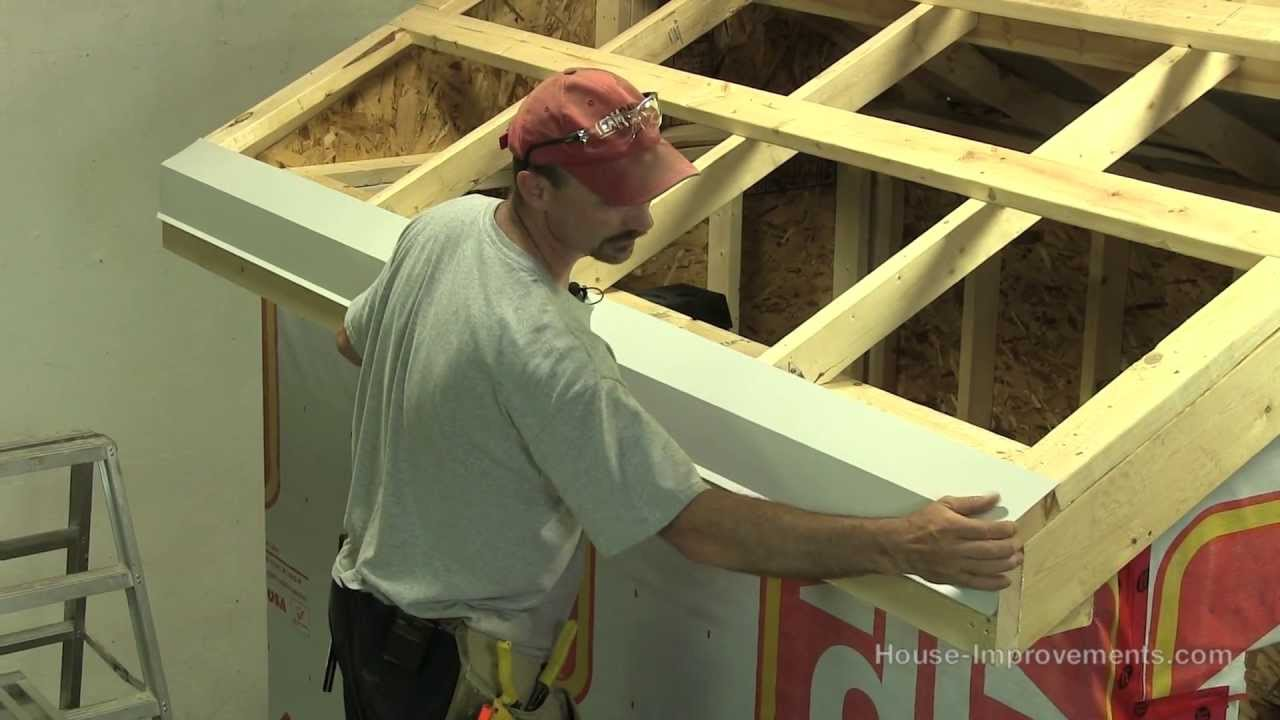 How To Build A Shed - Part 4 Installing Sheet Metal Roof - YouTube
