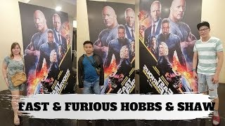 #fastandfurious #hobbsandshaw VLOG#17 FAST & FURIOUS HOBBS & SHAW MOVIE REVIEW