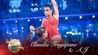 Claudia Fragapane & AJ Argentine Tango to 'Cry Me A River' by Justin Timberlake - Strictly 2016