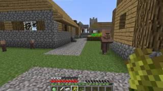 minecraft-выживание в плоском мире #1