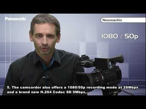 Panasonic Ag Ac90 Handheld Camcorder Description English Suble