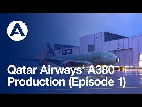Qatar Airways A380: Production (Episode 1)