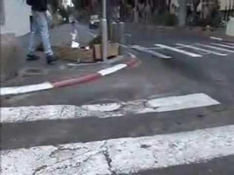 Israelis Blockade Downtown Tel Aviv, Jerusalem Protesting USA SPONSORED Israeli Apartheid System
