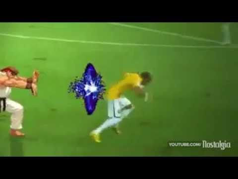 Neymar Injury   World Cup 2014 What really happened (Lesión Neymar)