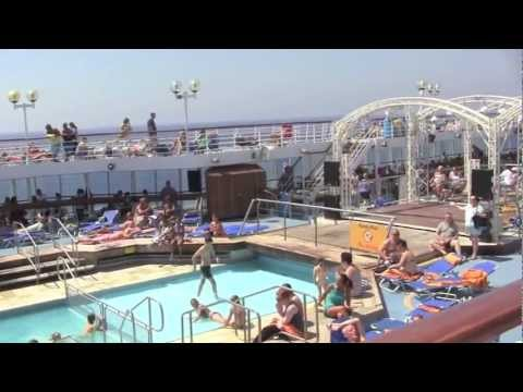 The Thomson Destiny Cruise Ship Review  August 2011