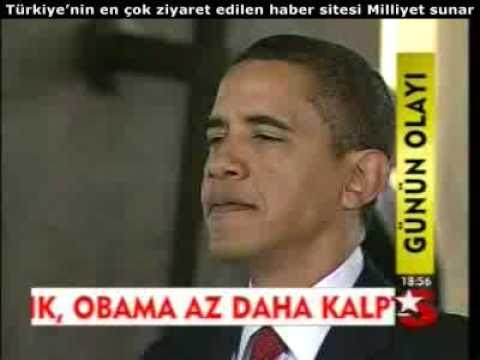 Obama Anıtkabirde Atatürk için ne yazdı 2009/04/07
