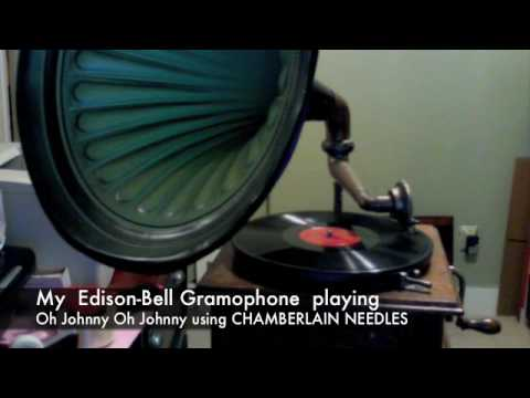 My Gramophone, Using Chamberlain Phonograph Needles From Www.myoldphonograph video