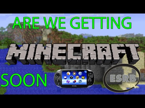 Minecraft PlayStation Vita Releasing Soon?  PSVITA