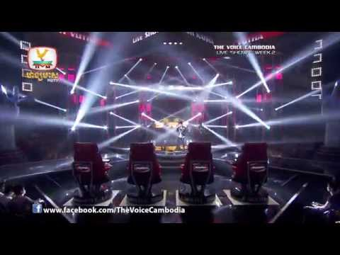 The Voice Cambodia - Live Show 2 - Neak Taing Os Knea Ning Knhom - Khun Vutha