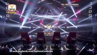 The Voice Cambodia - Live Show 2 - អ្នកទាំងអស់គ្នានិងខ្ញុំ - ឃុន វុត្ថា