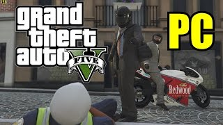 GTA 5 PC Max Settings Ultra Graphics 60FPS 1080p Gameplay- Jewel Store Job Heist (GTX 980 SLI)