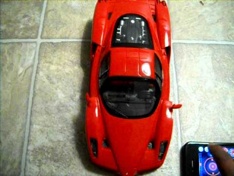 Silverlit Interactive Bluetooth Ferrari-iPhone.AVI Music Videos