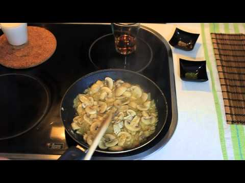 Cómo preparar una Salsa de Champiñones