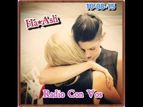 Audio de Ha*Ash en Argentina - Radio con Vos - La Ley de Marley - 10/08/2015