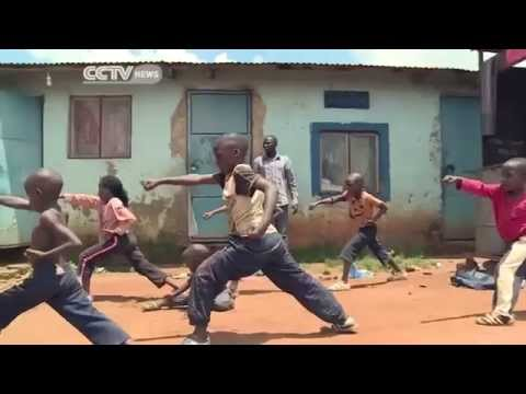 Waka Starz - Uganda's Kung Fu Children on CCTV