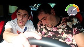 PASSING OUT WHILE DRIVING THE LAMBO PRANK!! *terrifying* | FaZe Rug