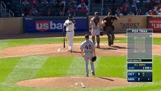 4/22/17: Castellanos powers Tigers' offense to win
