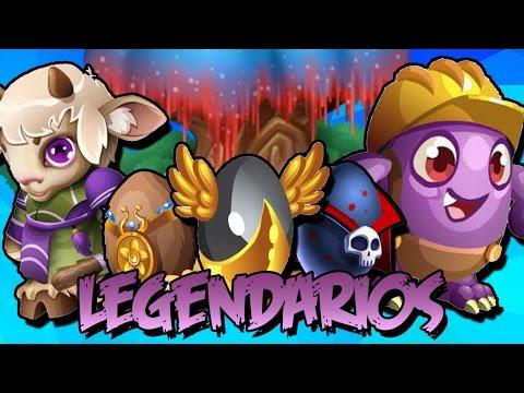 COMBINACIONES DE TODOS LOS MONSTRUOS LEGENDARIOS - Monster Legends (Actualizado 2018 en Descripcion)