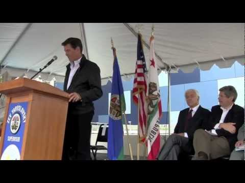 "Pierce Brosnan recites Rudyard Kipling's ""If"" at Malibu Library Grand Opening"