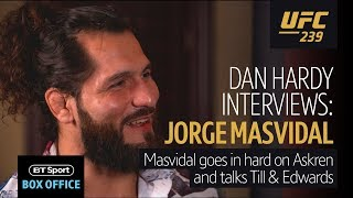 "Jorge Masvidal's most EXPLOSIVE interview yet | ""I want to correct the mistake that is Ben Askren"""