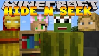 Minecraft - HIDE AND SEEK w/ Little Kelly and The Minevengers
