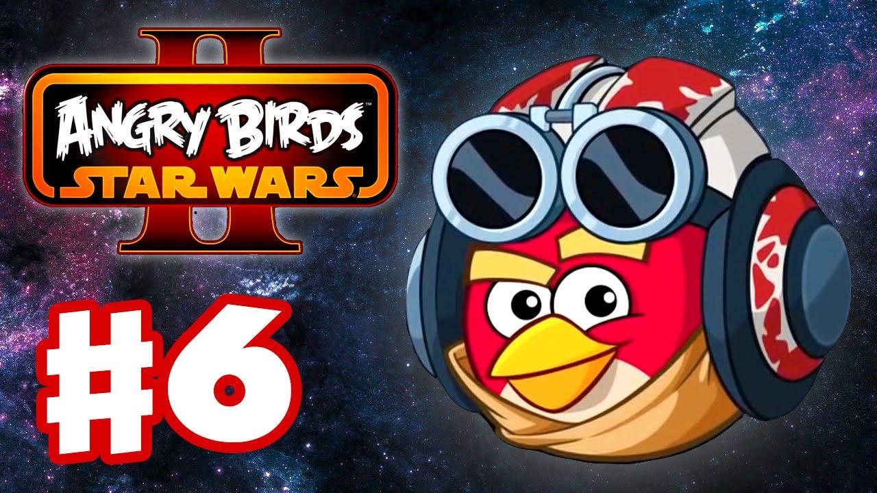 Angry birds star wars 2 gameplay walkthrough part 6 - Ou acheter des stickers ...