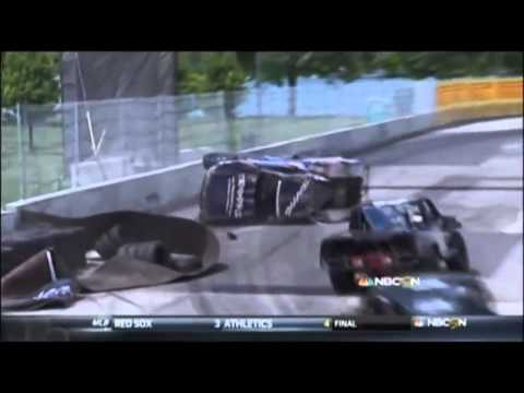 Kincaid Flip @ 2014 Super Trucks Detroit Race 3