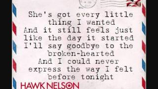 Watch Hawk Nelson Every Little Thing video