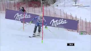 Petra Vlhova - 1 run ARE SWEDEN