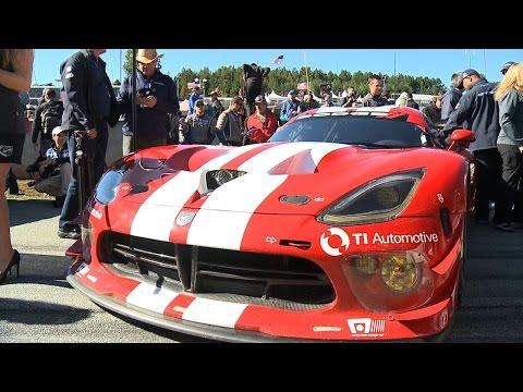 Viper SRT GTS-R Petit Le Mans Race Morning
